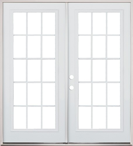 Door outlet center houston 39 s cheapest iron doors for White french doors exterior